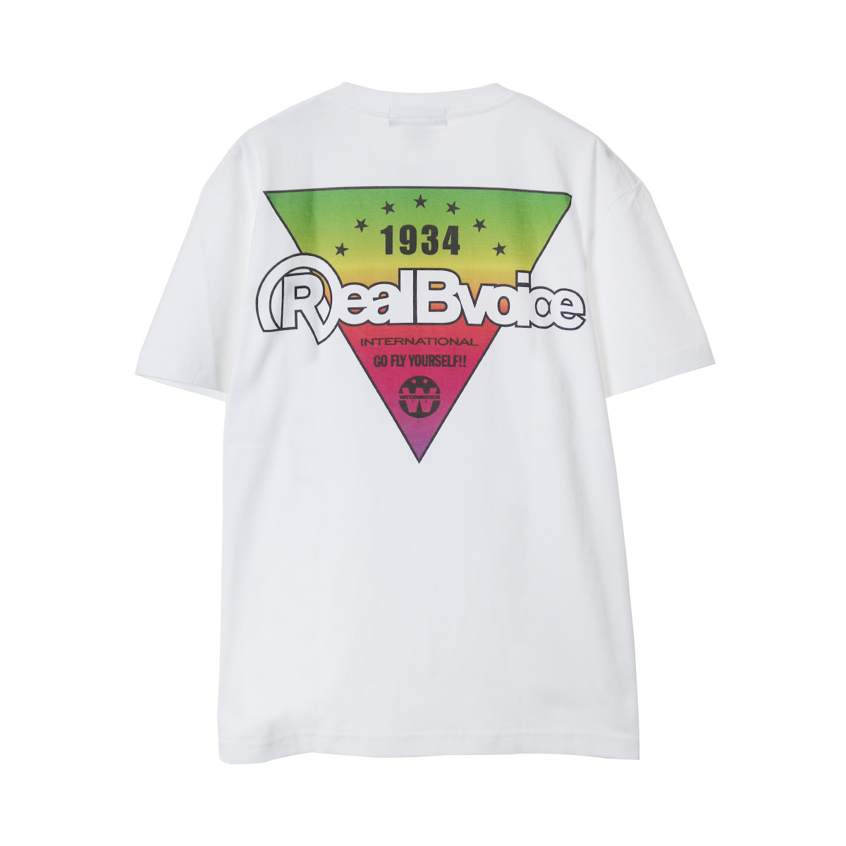 INVERTED TRIANGLE COTTON T-SHIRT