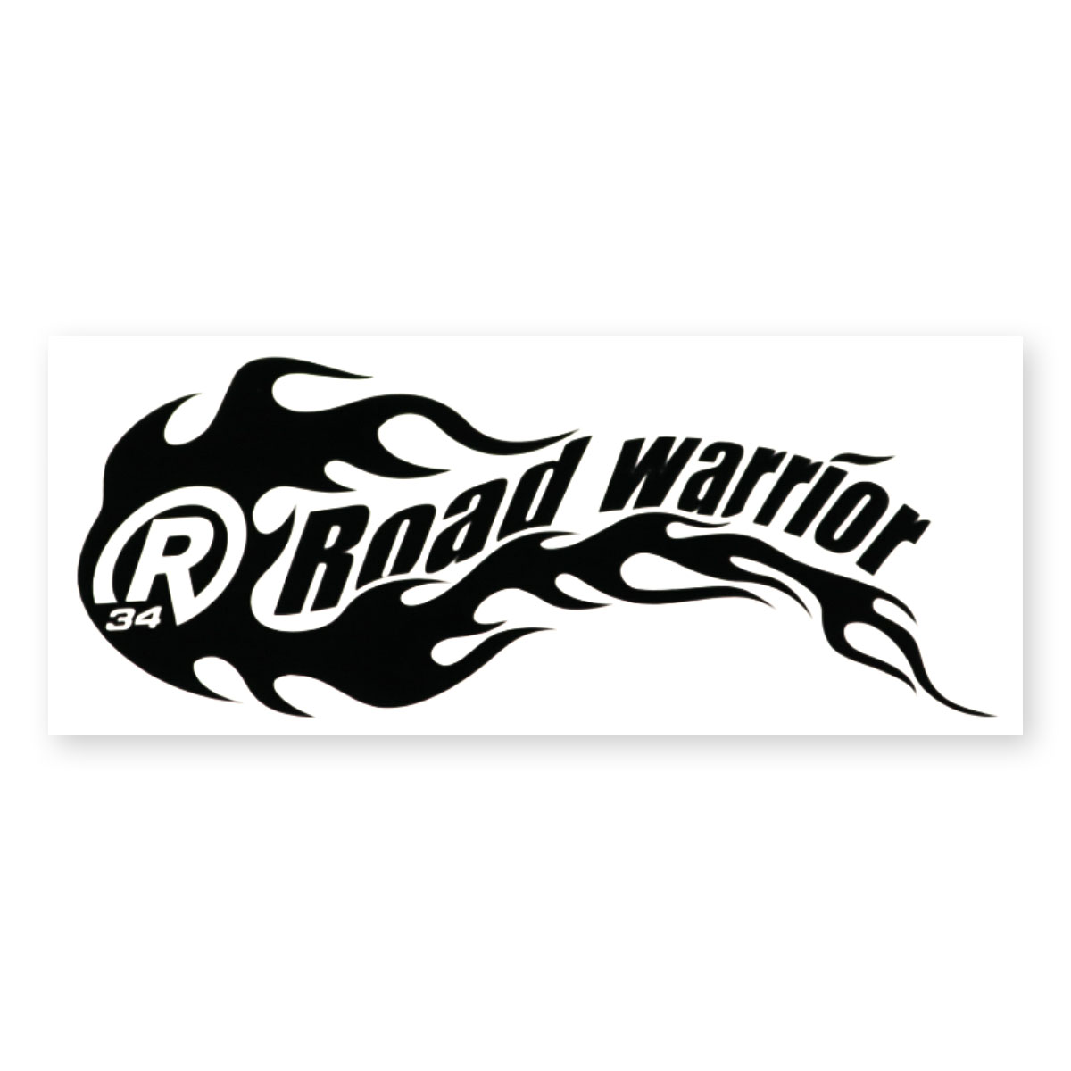 MC ROAD WARRIOR STICKER