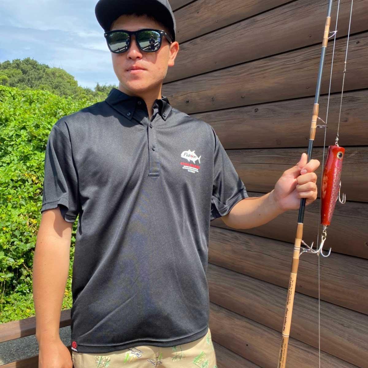 FISH HUNTER DRY POLO SHIRT