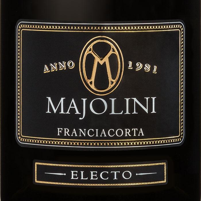 "「Pellini Adagio」コラボ Majolini フランチャコルタ・ブリュット・ミレジマート ""エレクト"" 2011"