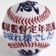 刺繍ボール 『感謝』 【タイプ1】 通常硬式野球ボールサイズ 引退祝い 卒業祝い 卒団祝い 名入れ オーダーメイド 贈り物 ギフト プレゼント