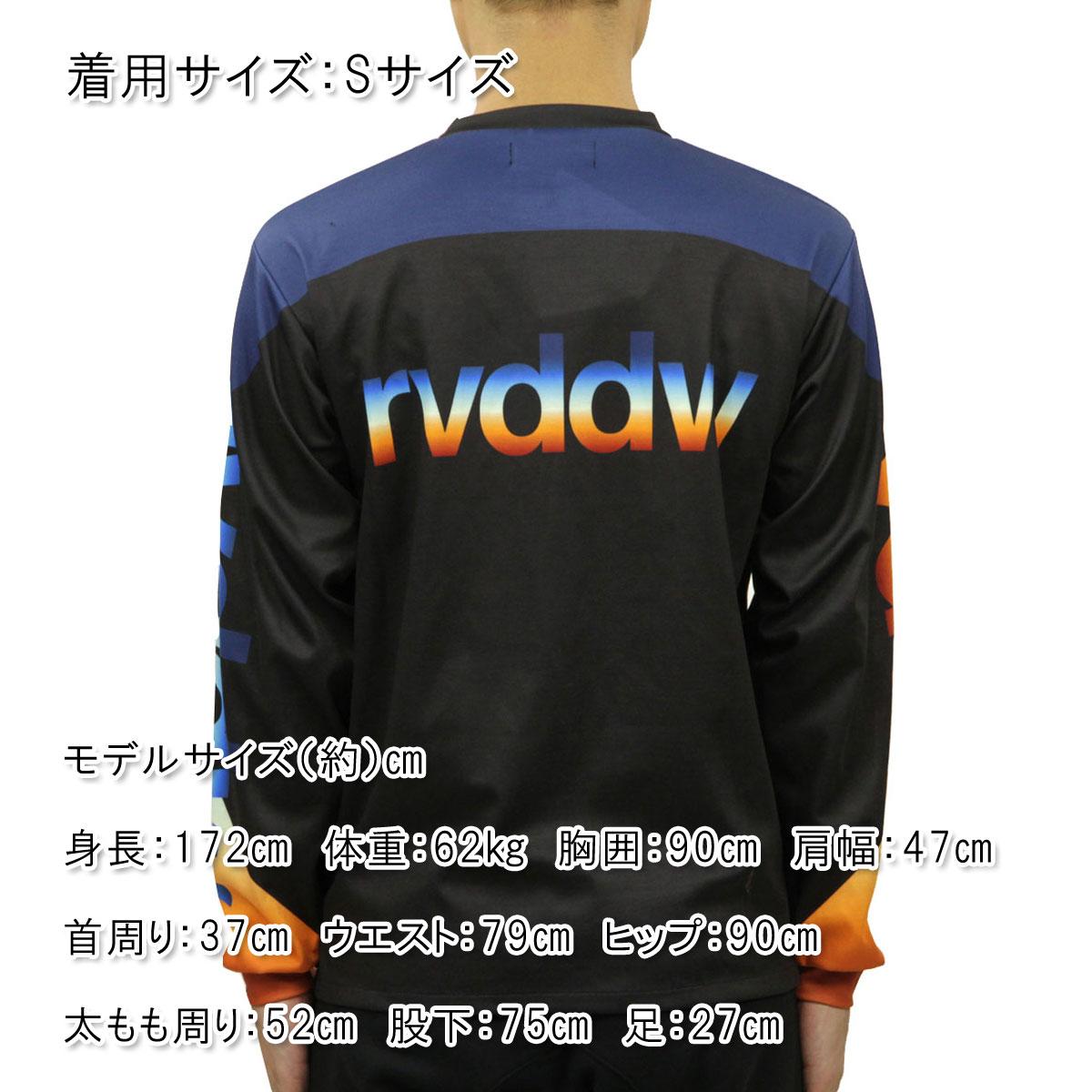 リバーサル ロンT メンズ 正規販売店 REVERSAL 長袖Tシャツ RETRO FUTURE DRY LONG SLEEVE rv19aw018a BLACK