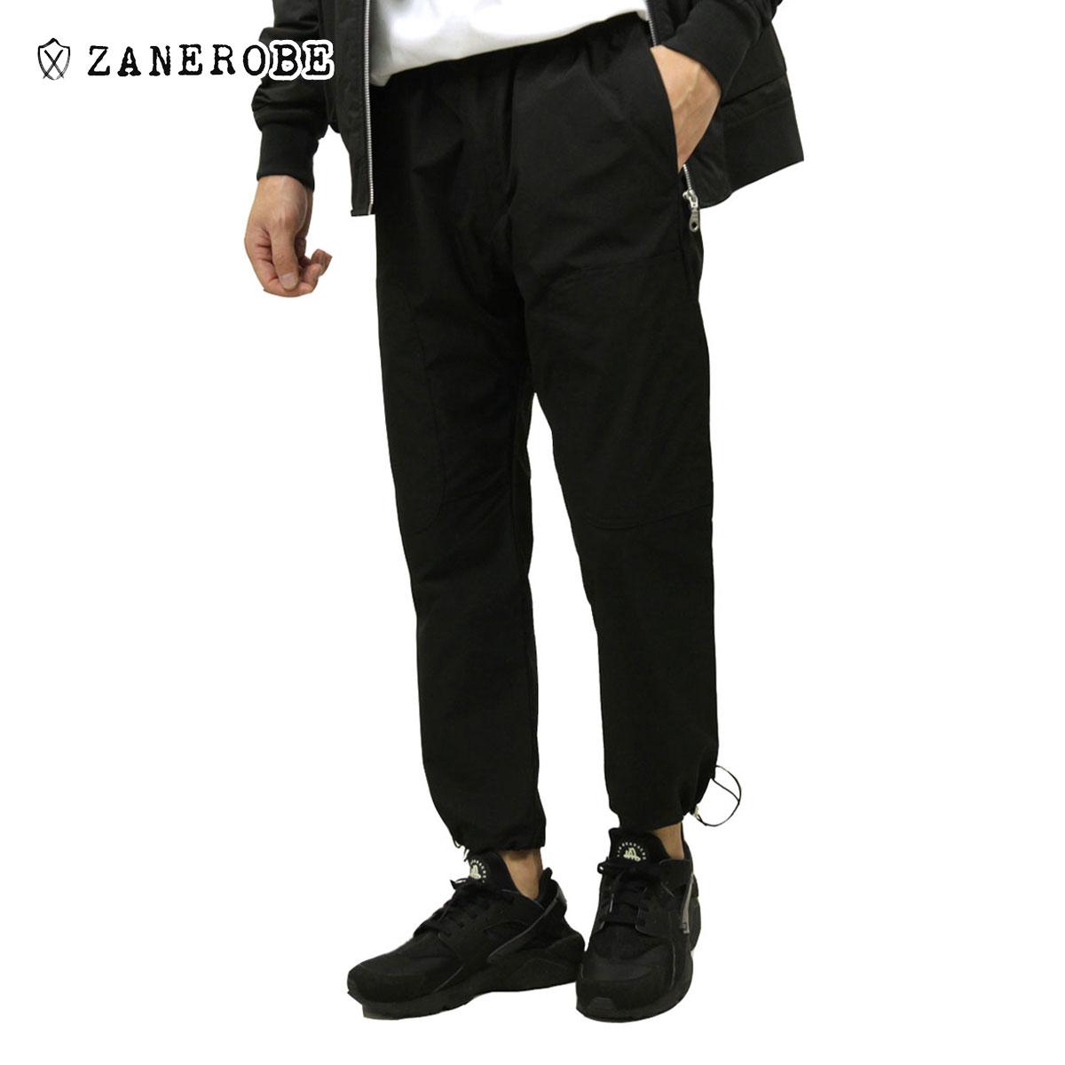 ゼンローブ ジョガーパンツ メンズ 正規販売店 ZANEROBE ナイロンパンツ テックパンツ ボトムス JUMPA TECH PANTS BLACK 704JP-RSP A13B B1C C2D D0E E13F