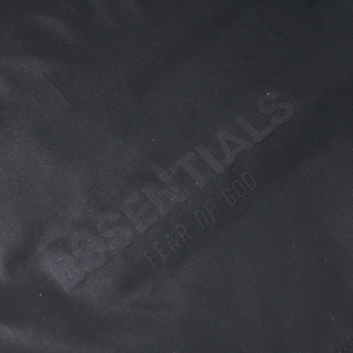 フィアオブゴッド ショートパンツ メンズ 正規品 FEAR OF GOD エッセンシャルズ ナイロンショートパンツ FOG - FEAR OF GOD ESSENTIALS REFLECTIVE VOLLEY SHORTS BLACK AA5B B1C C2D D6E E13F