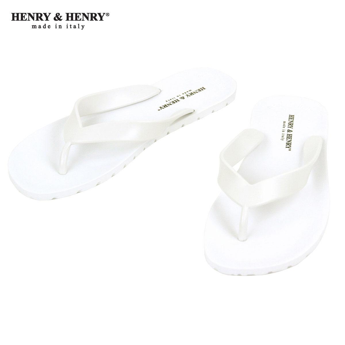 ヘンリーアンドヘンリー HENRY&HENRY 正規販売店 サンダル フリッパー FRIPPER SANDAL WHITE 31 A66B B3C C4D D3E E01F