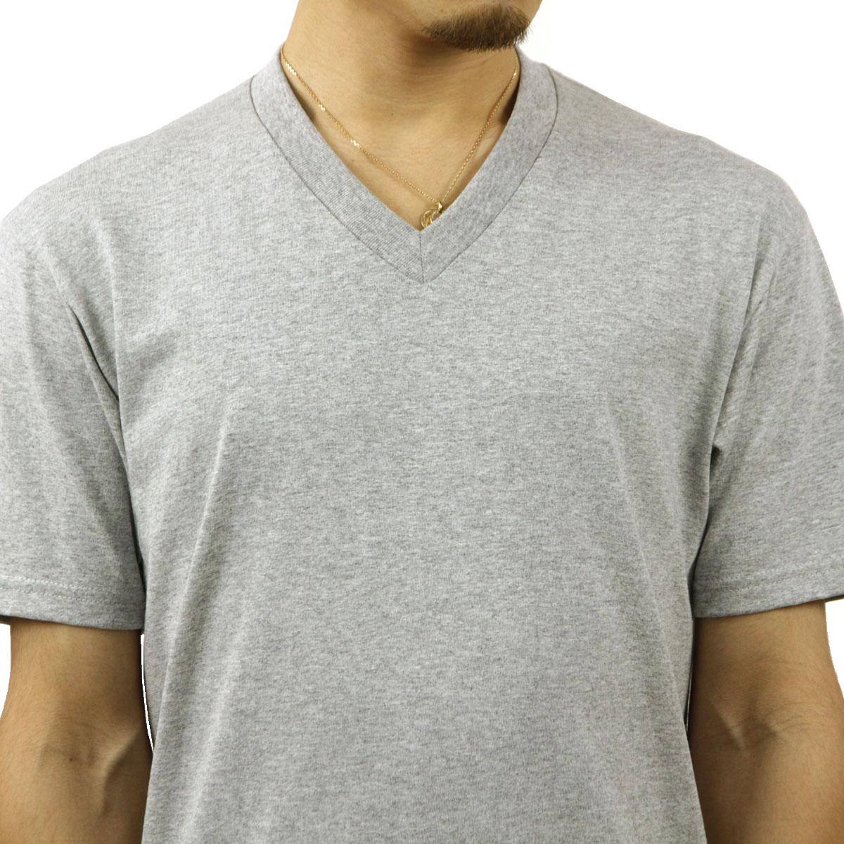 プロクラブ Tシャツ メンズ 正規販売店 PROCLUB 半袖Tシャツ VネックTシャツ COMFORT SHORT SLEEVE V-NECK TEE HEATHER GREY #106 AB6B B1C C1D D1E E02F