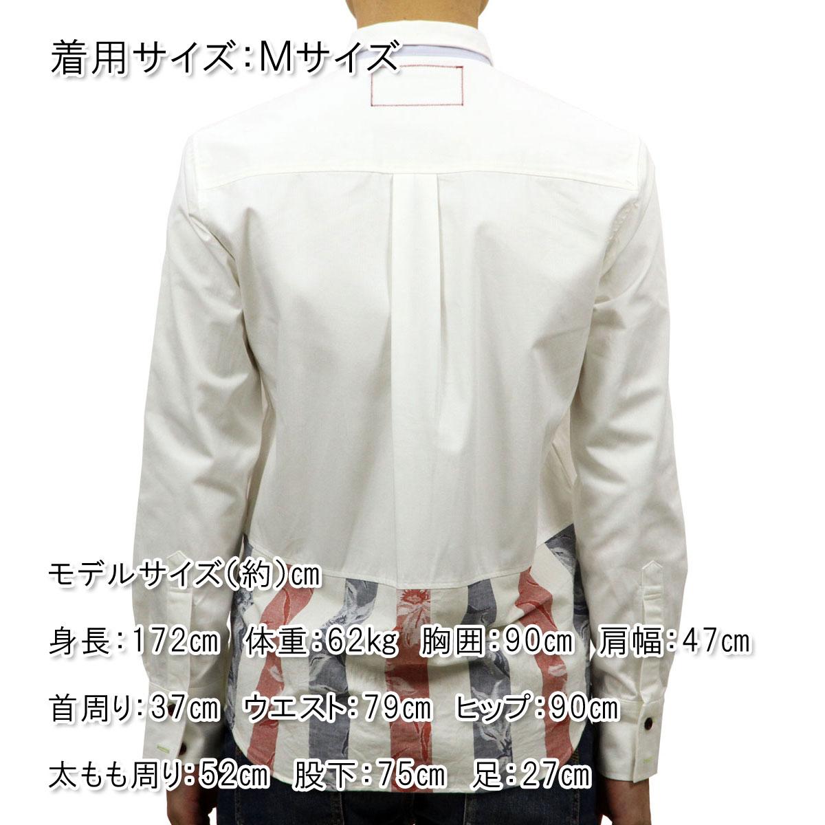 コートメール Cotemer メンズ シャツ SHIRT SH-S13-014 WHITE-RED A59B B1C C1D D6E E01F