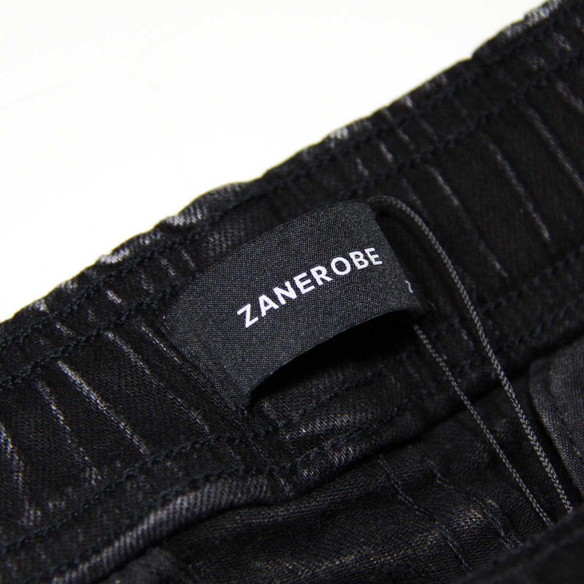 ゼンローブ ボトムス メンズ 正規販売店 ZANEROBE シュアショット ジョガーパンツ デニムパンツ SURESHOT DENIM JOGGER PANTS SALT BLACK 705JP-STA A13B B1C C2D D1E E13F