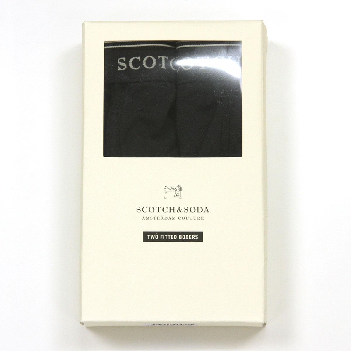スコッチアンドソーダ SCOTCH&SODA 正規販売店 メンズ アンダーウェア ボクサーパンツ 2枚組 BASIC NOS 2-PACK CLASSIC BOXER SHORTS 124904 08 D A39B B1C C7D D2E E13F