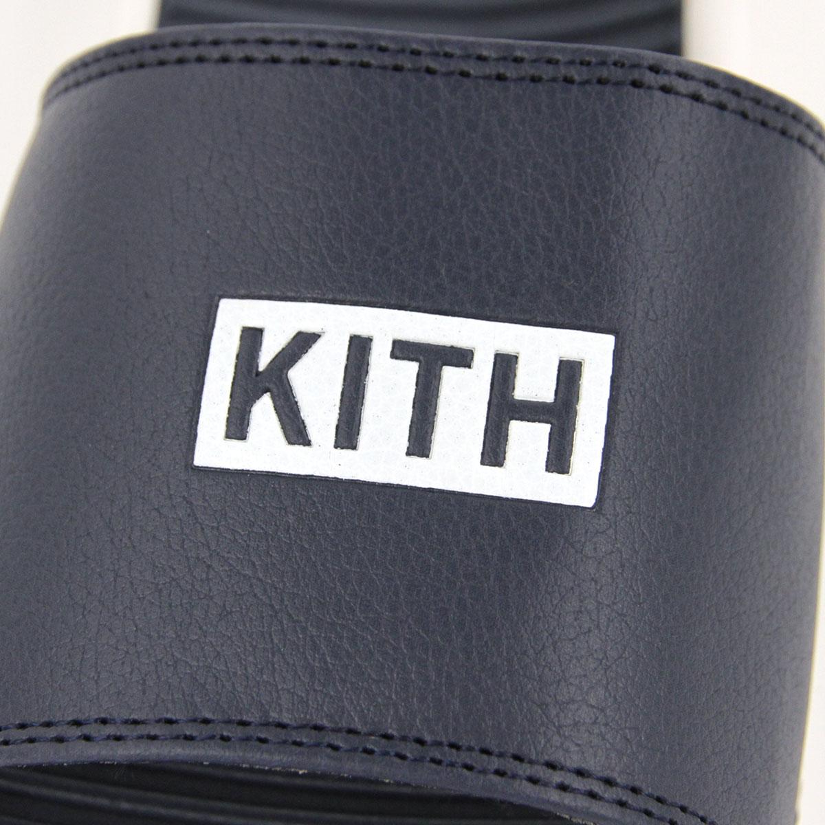 キス サンダル メンズ 正規品 KITH シャワーサンダル ビーチスライド ビーチサンダル KITH BEACH SLIDES KH9288-102 NAVY A95B B1C C4D D3E E06F