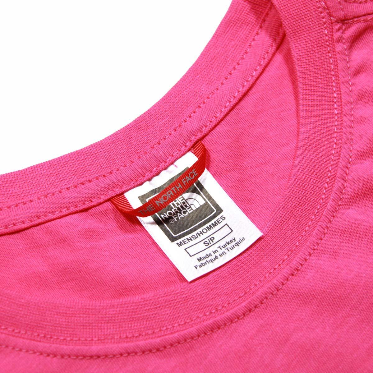 ノースフェイス Tシャツ メンズ 正規品 THE NORTH FACE 半袖Tシャツ クルーネックTシャツ バックプリント SHORT SLEEVE RED BOX TEE NF0A2TX2 MR. PINK A14B B1C C1D D1E E11F