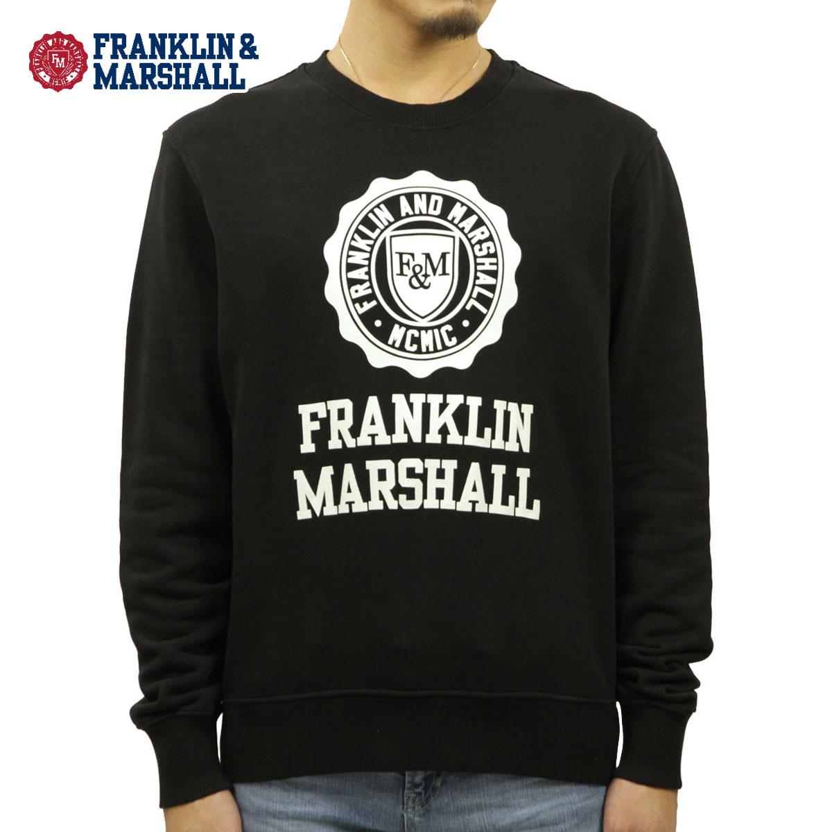 フランクリン マーシャル スウェット メンズ 正規販売店 FRANKLIN&MARSHALL トレーナー LOGO CREW NECK FLEECE 021 FLMF055AN 0021 A61B B1C C1D D5E E13F