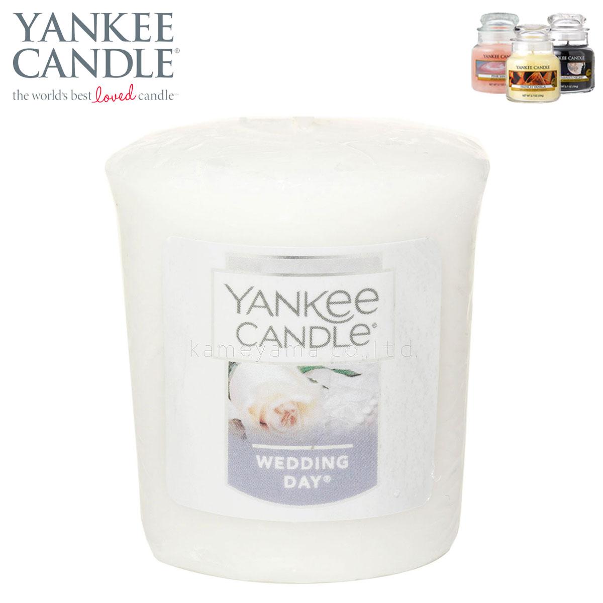 ヤンキーキャンドル YANKEE CANDLE 正規販売店 キャンドル YCサンプラー ウエディングデイ (K0010512) A49B B3C C3D D0E E00F