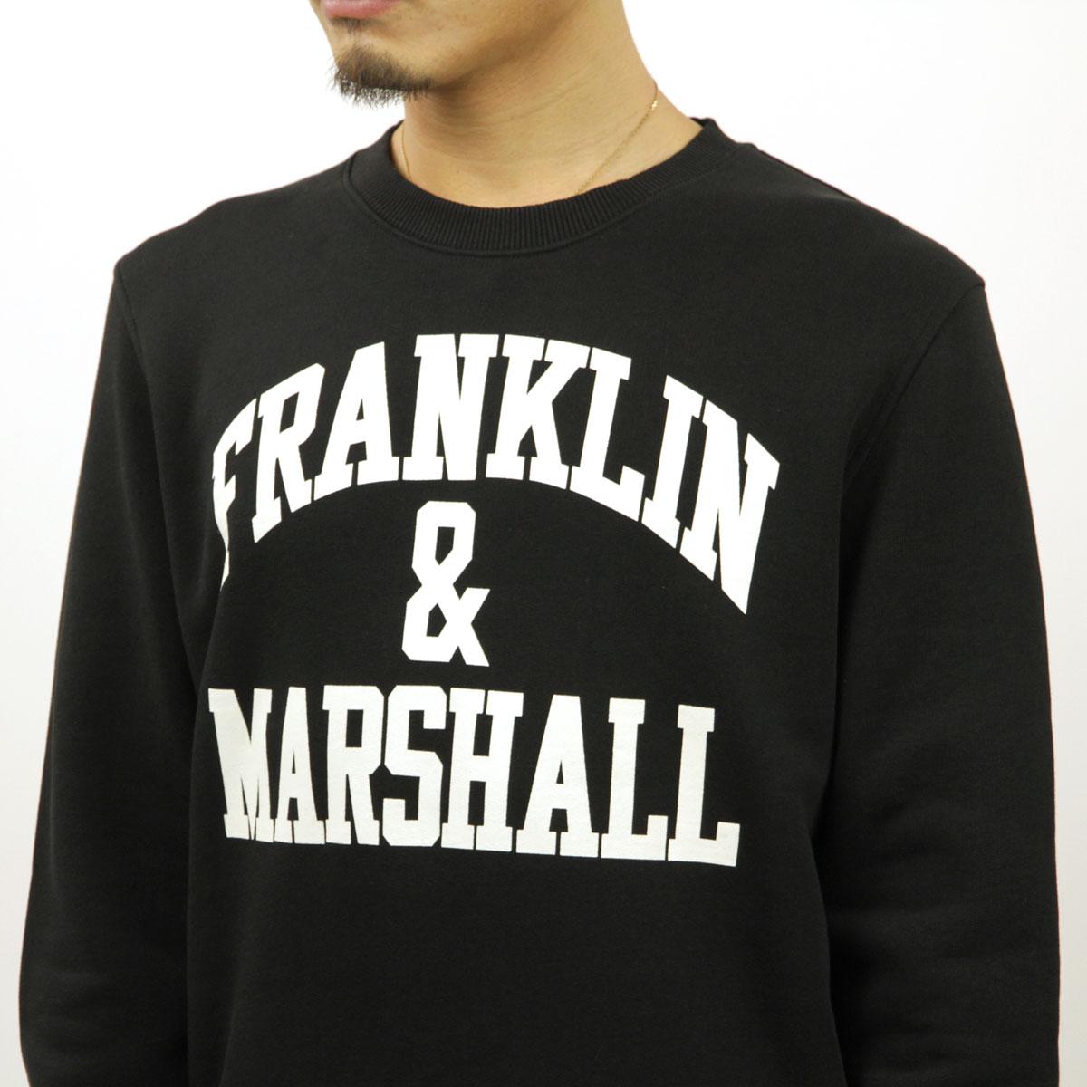 フランクリン マーシャル スウェット メンズ 正規販売店 FRANKLIN&MARSHALL トレーナー ICON CREW NECK FLEECE 021 FLMF065AN 0021 A61B B1C C1D D5E E13F