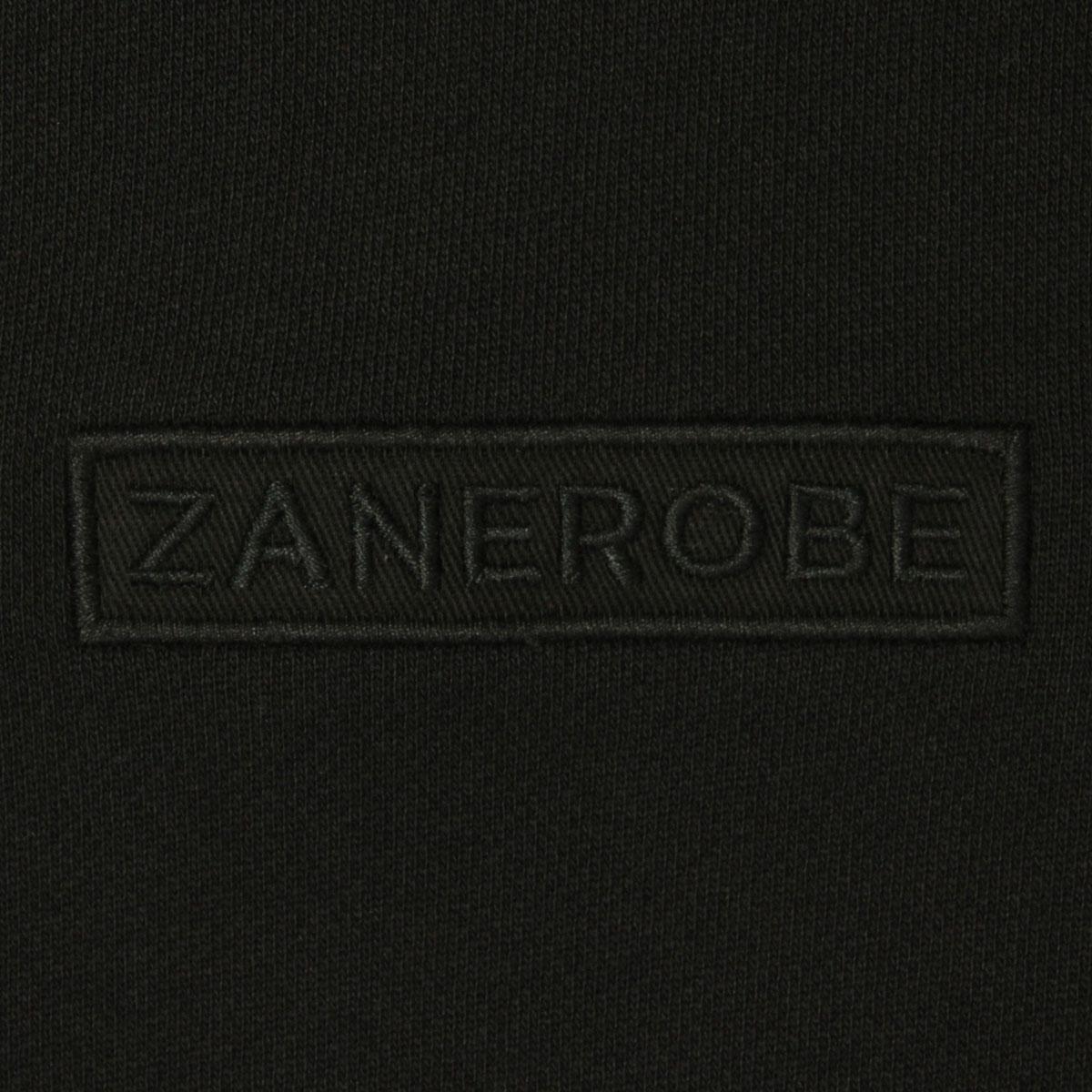 ゼンローブ パーカー メンズ 正規販売店 ZANEROBE プルオーバーパーカー TM RUGGER HOOD 409-TDK BLACK A13B B1C C1D D5E E13F ホワイトデー 2021 ラッピング無料
