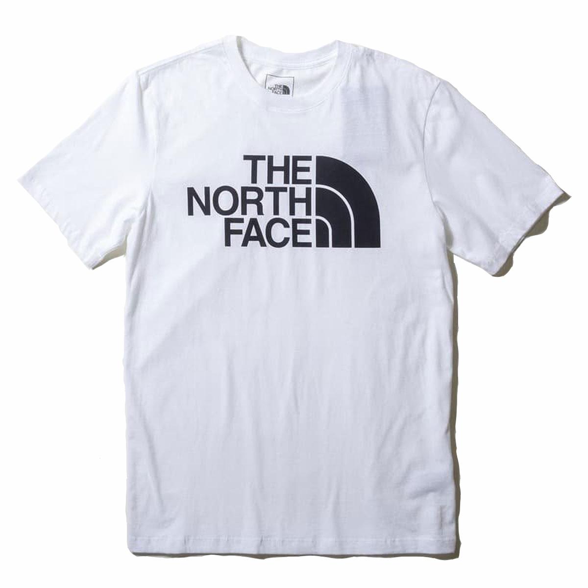 ノースフェイス Tシャツ メンズ 正規品 THE NORTH FACE 半袖Tシャツ クルーネック ロゴTシャツ THE NORTH FACE M S/S HALF DOME TEE TNF WHITE NF0A4M4P A14B B1C C1D D1E E01F