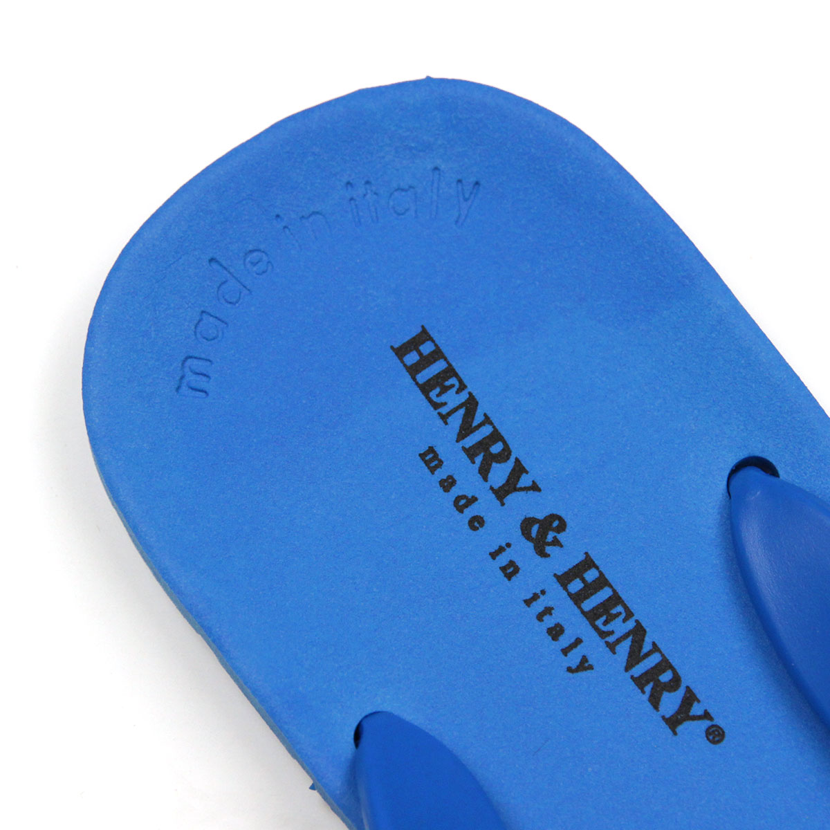 ヘンリーアンドヘンリー HENRY&HENRY 正規販売店 サンダル フリッパー FRIPPER SANDAL AZZURO 50 A66B B3C C4D D3E E07F