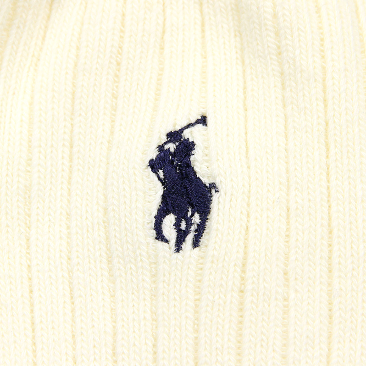 ポロ ラルフローレン POLO RALPH LAUREN 正規品 ソックス COTTON RIB SINGLE SOCK NATURAL 104 - NATURAL A05B B1C C3D D1E E18F