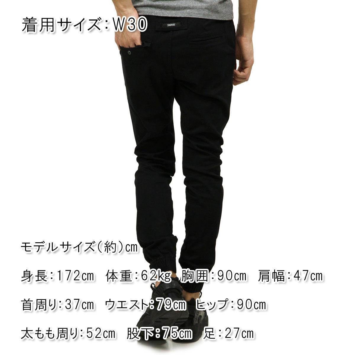 ゼンローブ ZANEROBE 正規販売店 メンズ チノ ジョガーパンツ SURESHOT CHINO JOGGER PANTS BLACK 760JP-MTG A13B B1C C2D D2E E13F