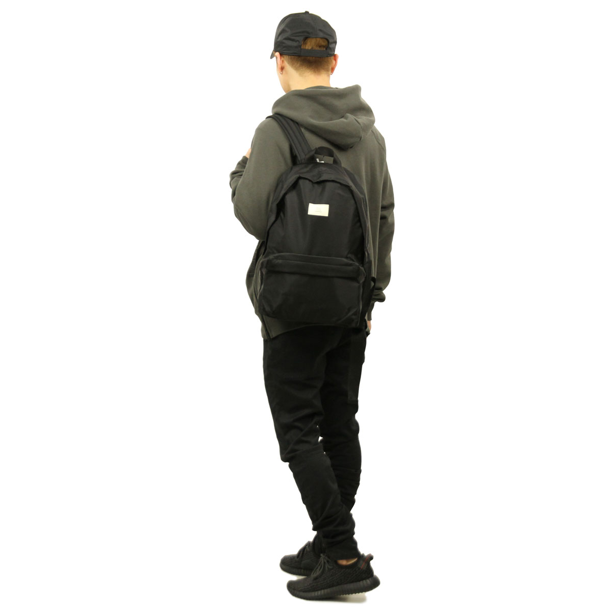フィアオブゴッド FEAR OF GOD 正規品 バックパック リュックサック FOG - FEAR OF GOD ESSENTIALS NYLON WEB BACKPACK BLACK AA5B B3C C8D D3E E13F