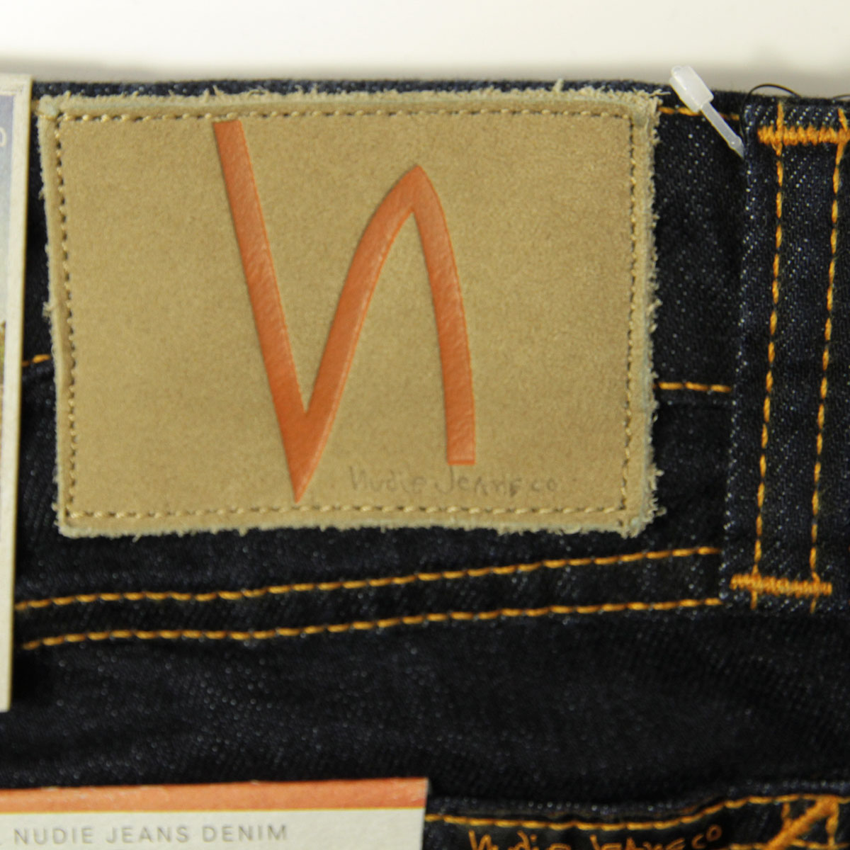 ヌーディージーンズ ジーンズ メンズ 正規販売店 Nudie Jeans ジーパン  スキニーリン SKINNY LIN JEANS DRY DEEP ORANGE 576 1120830 A62B B1C C2D D1E E06F