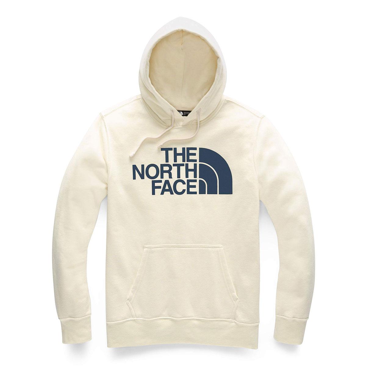 ノースフェイス パーカー メンズ 正規品 THE NORTH FACE プルオーバーパーカー ロゴ THE NORTH FACE M HALF DOME PULLOVER HOODIE VINTAGE WHITE NF0A4M4B A14B B1C C1D D5E E01F ホワイトデー 2021 ラッピング無料
