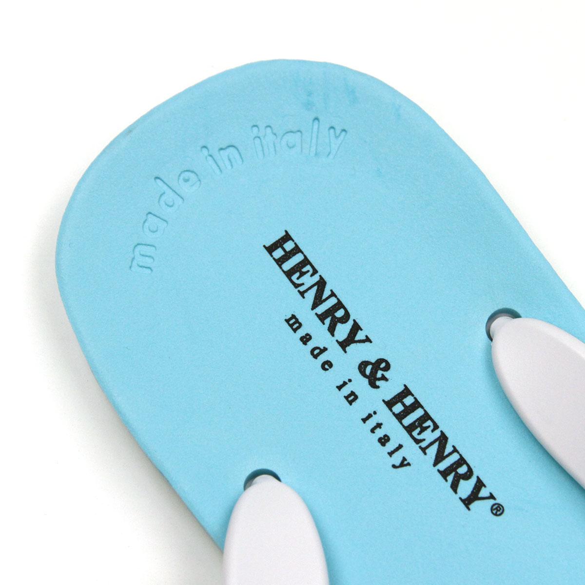 ヘンリーアンドヘンリー HENRY&HENRY 正規販売店 サンダル フリッパー FRIPPER SANDAL ACQUA / BIANCO 32/31 A66B B3C C4D D3E E01F