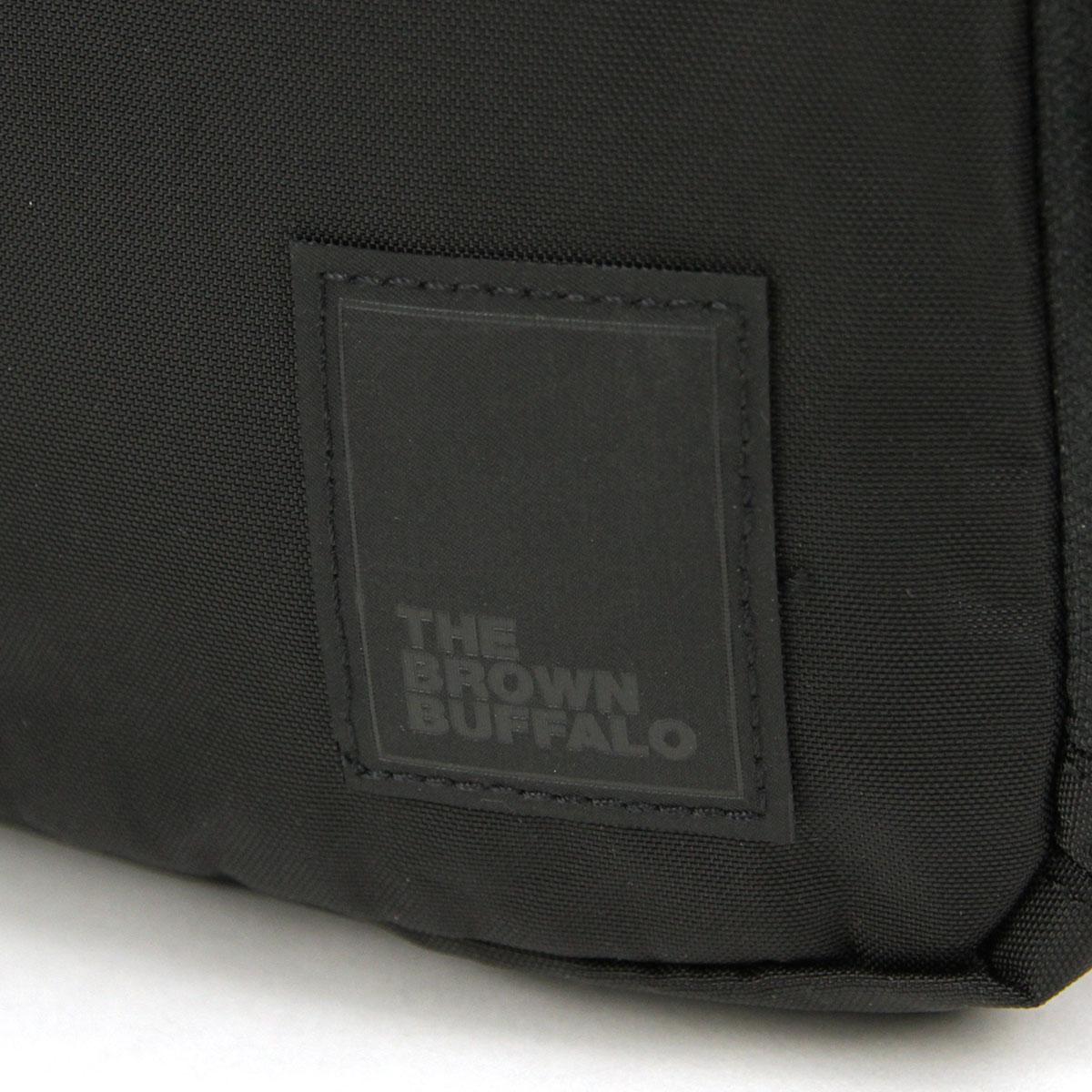 ザ ブラウン バッファロー バッグ メンズ レディース 正規販売店 THE BROWN BUFFALO ショルダーバッグ ボディバッグ CONCEALSLING BLACK F18CS420DBLK1 AA7B B3C C8D D4E E13F