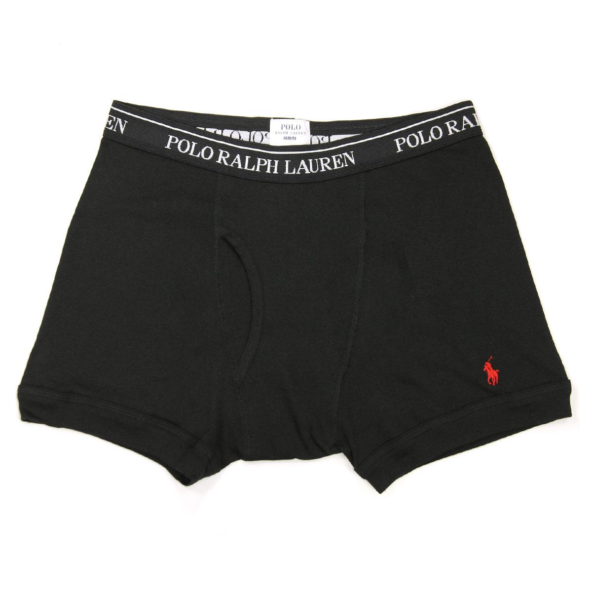 ポロ ラルフローレン POLO RALPH LAUREN 正規品 メンズ ボクサーブリーフ3パック Boxer Brief 3-Pack 4023369 BLACK  A05B B1C C7D D2E E13F