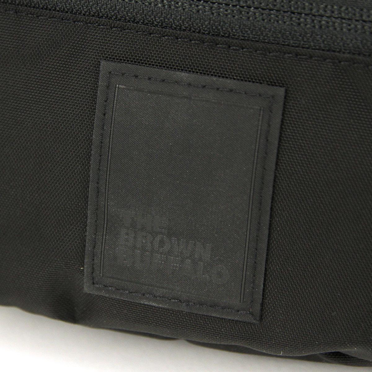 ザ ブラウン バッファロー バッグ メンズ レディース 正規販売店 THE BROWN BUFFALO ショルダーバッグ ボディバッグ BEYONDSLING BLACK F18BS420DBLK1 AA7B B3C C8D D4E E13F
