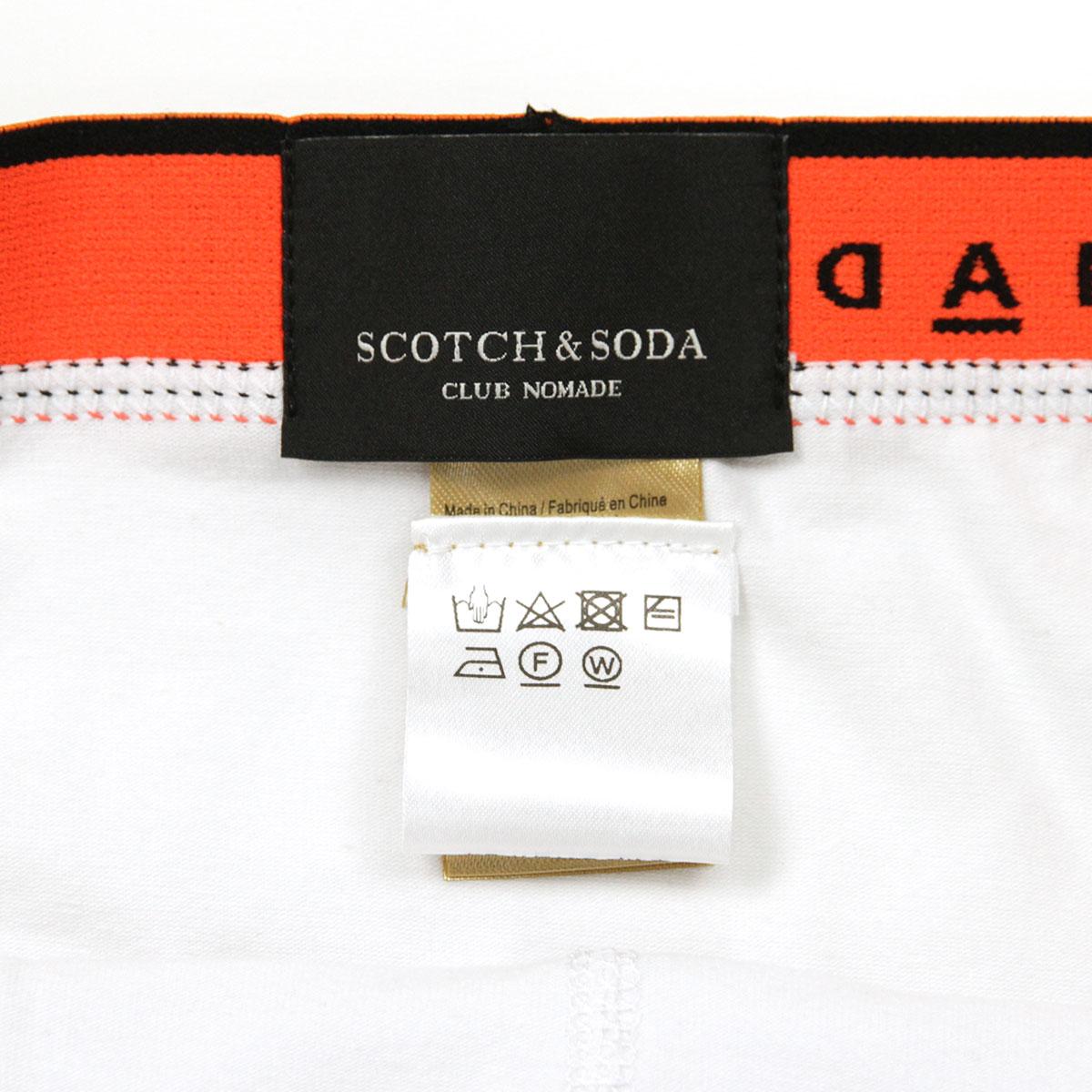 スコッチアンドソーダ SCOTCH&SODA 正規販売店 メンズ アンダーウェア ボクサーパンツ 2枚組 CLUB NOMADE 2 PACK BOXER SHORTS D 147908 17 COMBO A A39B B1C C7D D2E E13F