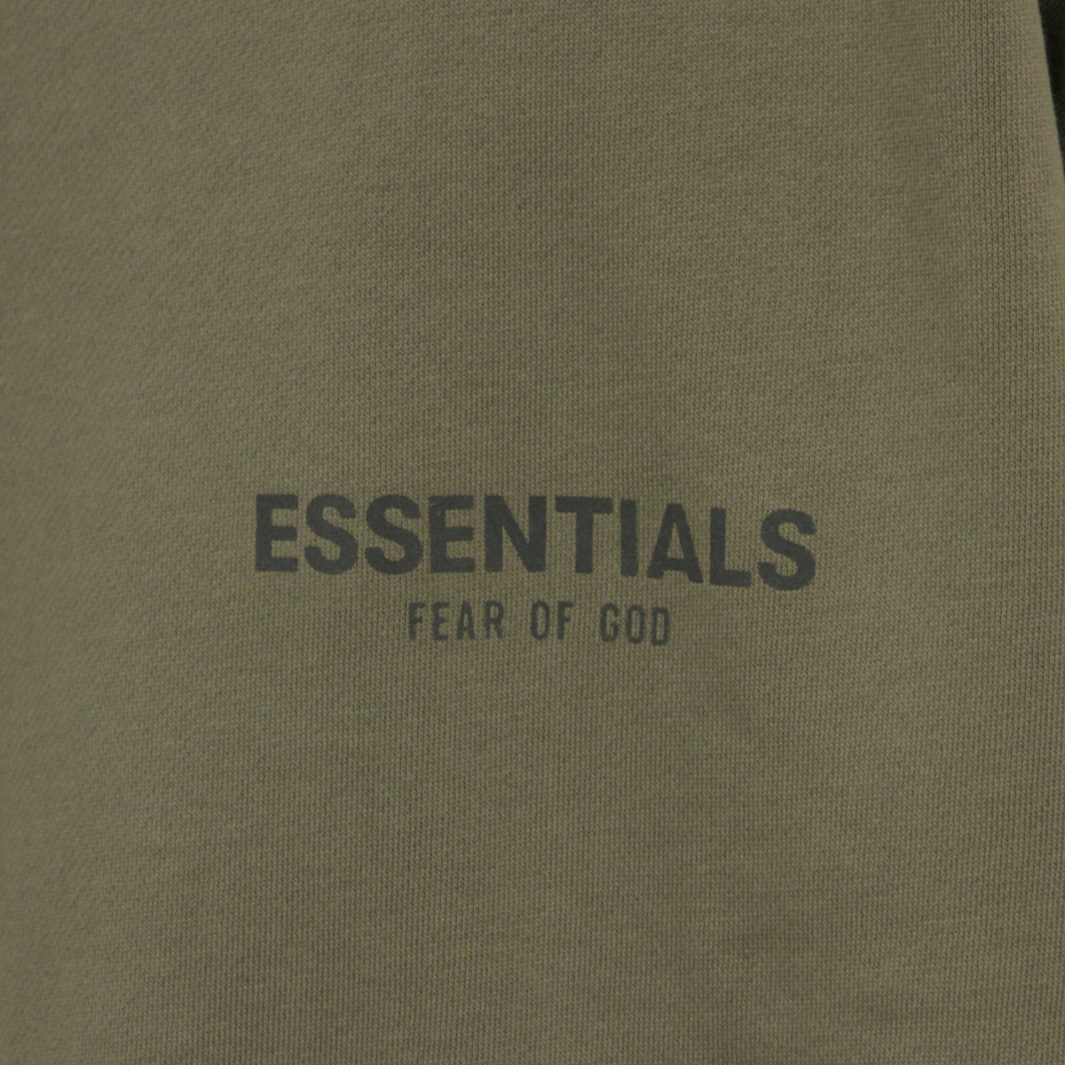 フィアオブゴッド スウェット メンズ 正規品 FEAR OF GOD エッセンシャルズ トレーナー ロゴ モックネック FOG - FEAR OF GOD ESSENTIALS MOCK NECK SWEAT CHARCOAL AA5B B1C C1D D5E E02F