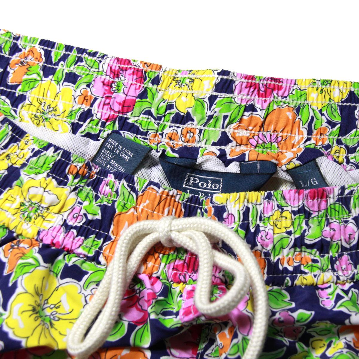 ポロ ラルフローレン POLO RALPH LAUREN 正規品 メンズ スイムパンツ Traveler Floral Swim Shorts A05B B1C C2D D7E E12F