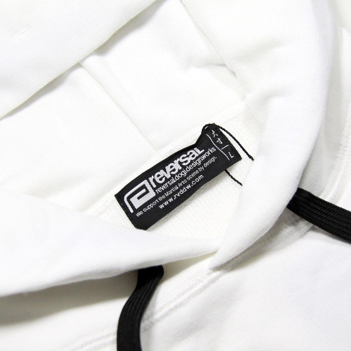 リバーサル パーカー メンズ 正規販売店 REVERSAL ビッグシルエットパーカー プルオーバーパーカー PEs MVS BIG SILHOUETTE PARKA rv21ss201 WHITE A06B B1C C1D D5E E01F