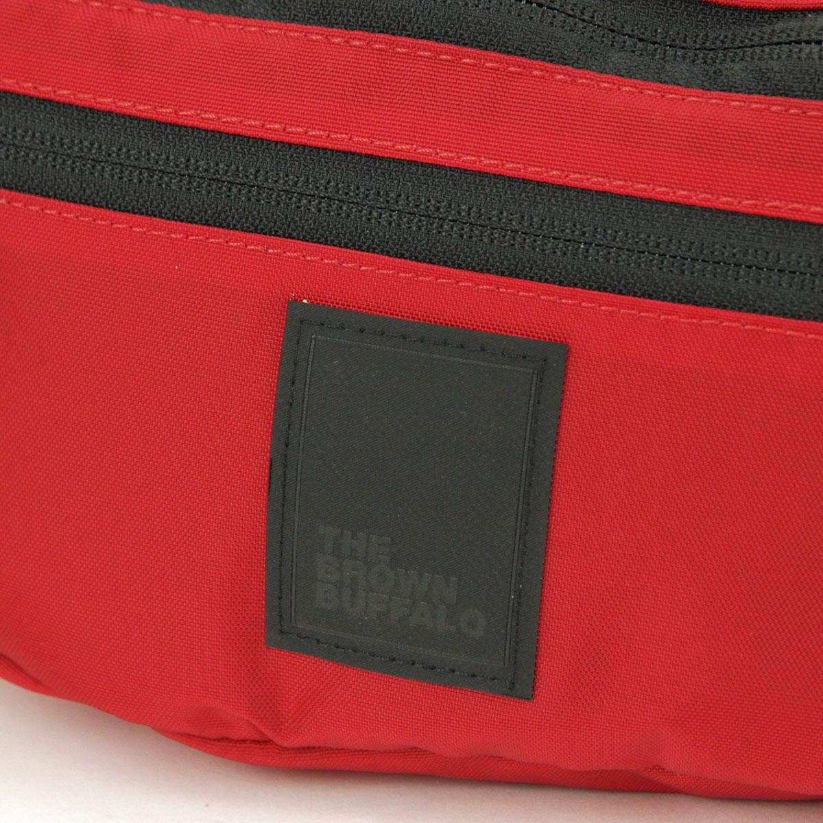ザ ブラウン バッファロー バッグ メンズ レディース 正規販売店 THE BROWN BUFFALO ショルダーバッグ ボディバッグ BEYONDSLING RED S19BS420RED AA7B B3C C8D D4E E11F