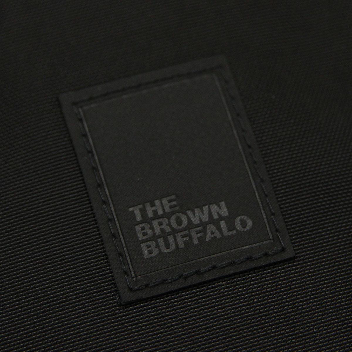 ザ ブラウン バッファロー バッグ メンズ レディース 正規販売店 THE BROWN BUFFALO ショルダーバッグ サコッシュ ミニショルダー SPECIAL DELIVERY BLACK F18SD420DBLK1 AA7B B3C C8D D4E E13F
