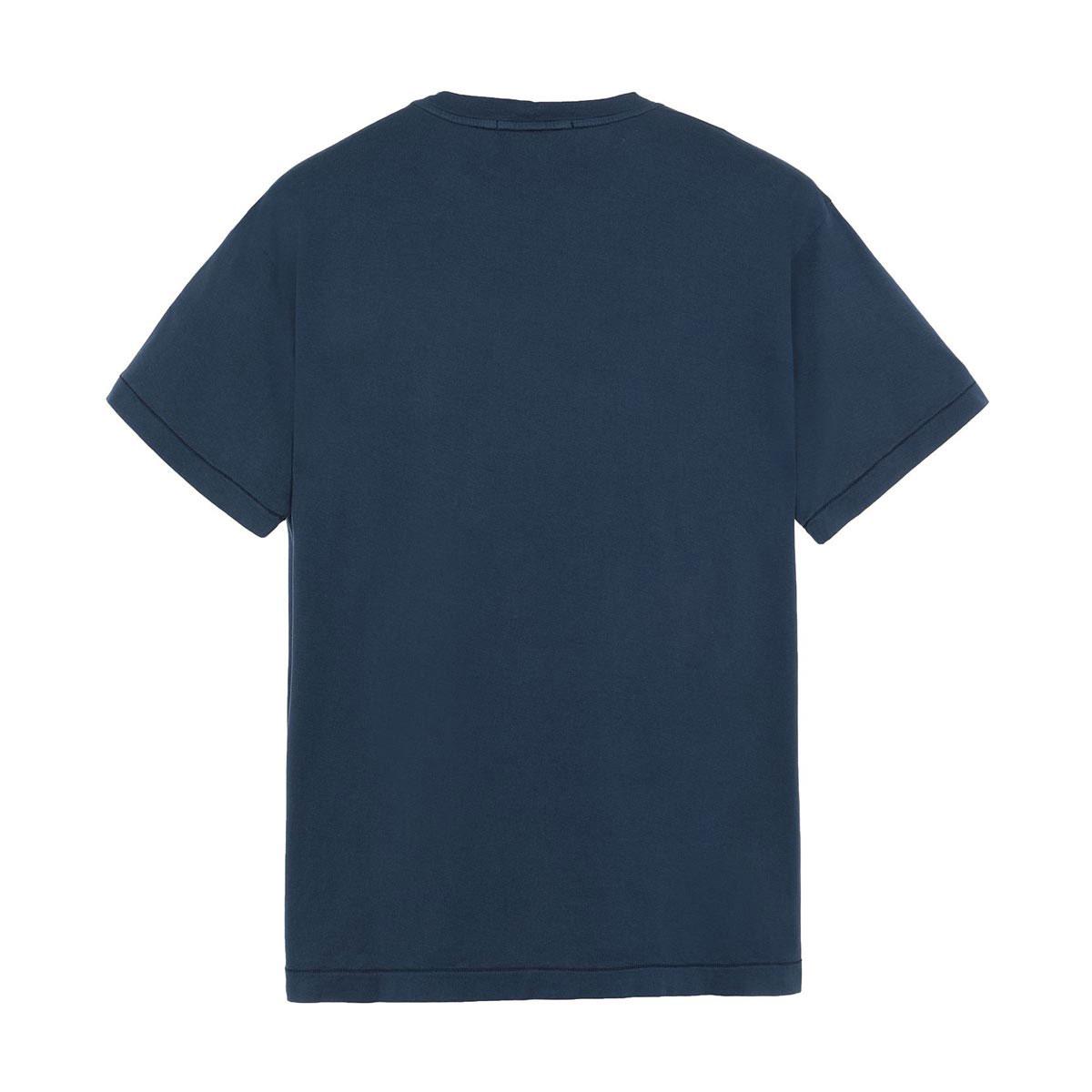 ストーンアイランド Tシャツ メンズ 正規品 STONE ISLAND 半袖Tシャツ T-SHIRT MARIN BLUE BLEU MARIN 24113 V0028 AB4B B1C C1D D1E E06F ホワイトデー 2021 ラッピング無料
