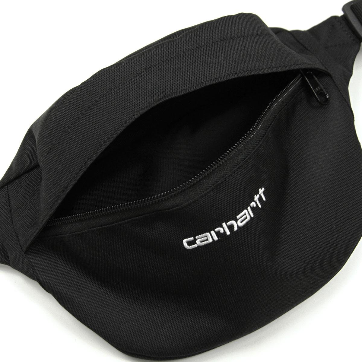 カーハート ボディーバッグ メンズ レディース 正規品 CARHARTT WIP ヒップバッグ ショルダーバッグ CARHARTT WIP PAYTON HIP BAG BLACK/WHITE i025742-8990 AB0B B3C C8D D4E E13F