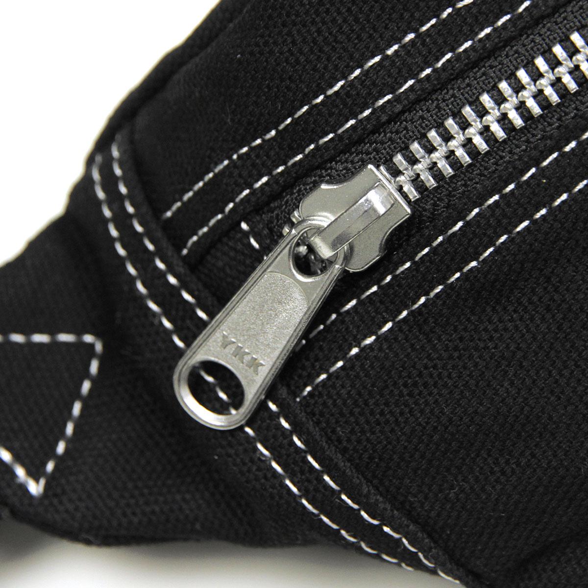 カーハート ボディーバッグ メンズ レディース 正規品 CARHARTT WIP ヒップバッグ ショルダーバッグ CARHARTT WIP STRATFORD HIP BAG BLACK/WHITE i027585-8990 AB0B B3C C8D D4E E13F