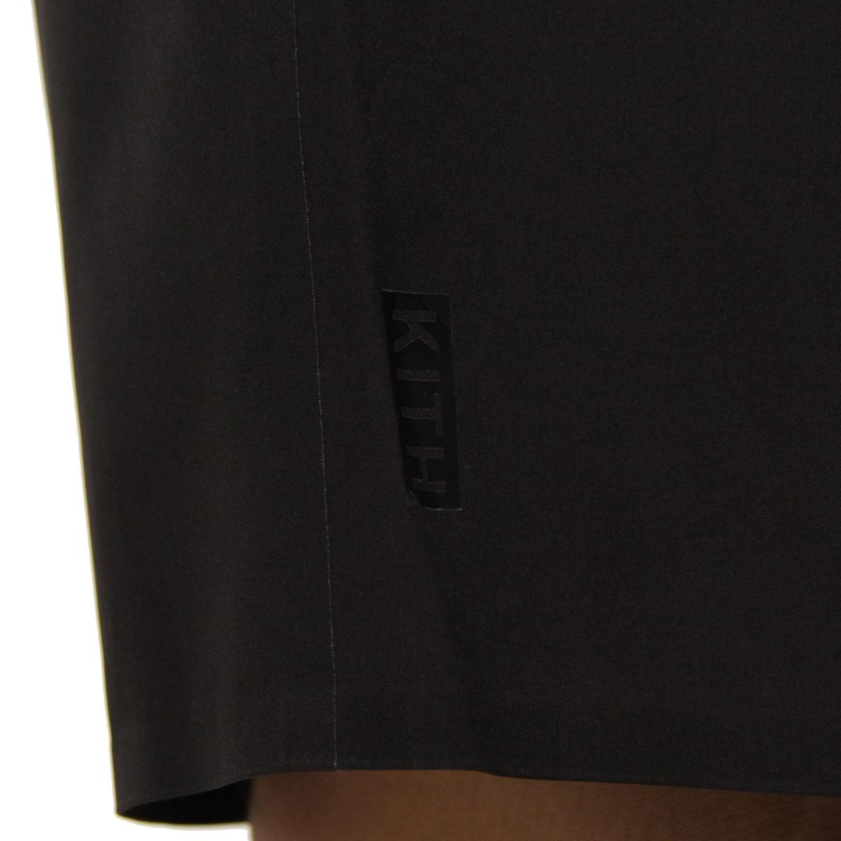 キス 水着 メンズ 正規品 KITH スイムパンツ  KITH CONEY SWIM TRUNK KH7001-100 BLACK / GREY A95B B1C C2D D7E E02F
