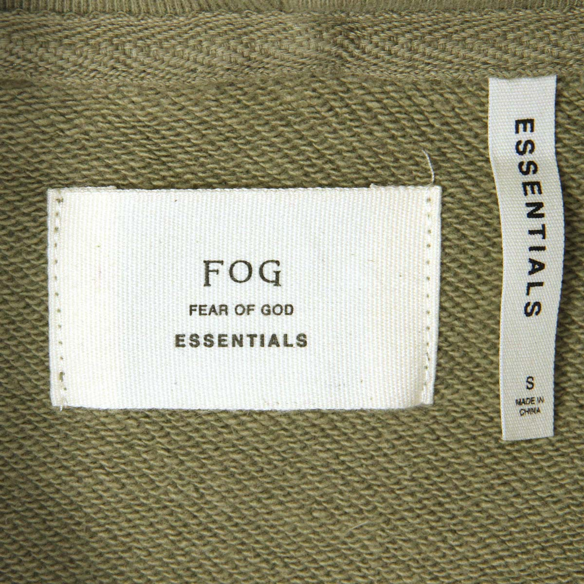フィアオブゴッド パーカー メンズ 正規品 FEAR OF GOD プルオーバーパーカー  FOG - FEAR OF GOD ESSENTIALS PULLOVER HOODIE SILVER SAGE AA5B B1C C1D D5E E05F