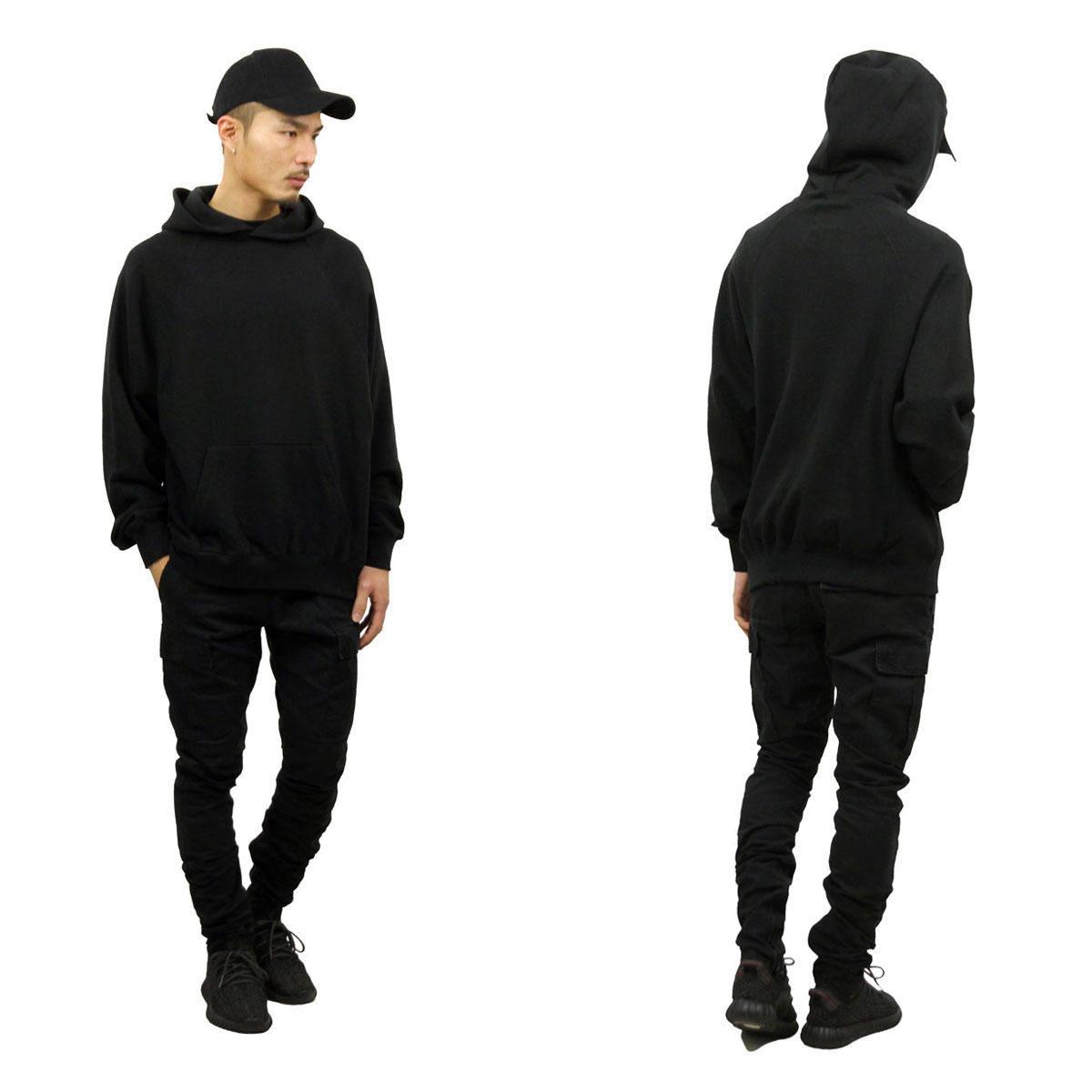 フィアオブゴッド パーカー メンズ 正規品 FEAR OF GOD プルオーバーパーカー  FOG - FEAR OF GOD ESSENTIALS PULLOVER HOODIE BLACK AA5B B1C C1D D5E E13F