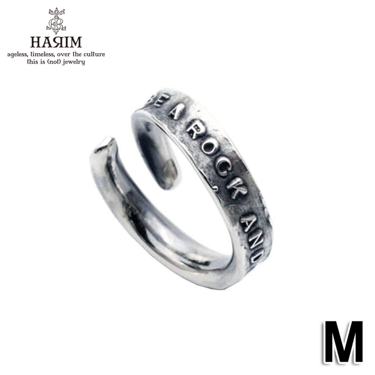 ハリム HARIM 正規販売店 指輪 リング STAIRWAY TO HEAVEN FREE RING M HRR039SV M SILVER 925 OXIDIZED BLACK M A82B B3C C3D D8E E32F