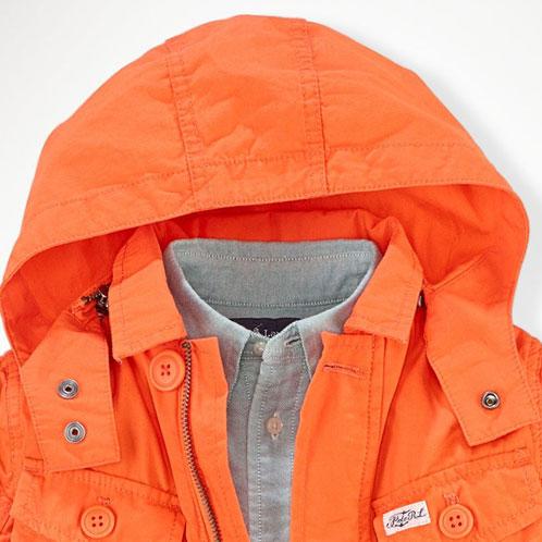 ポロ ラルフローレン キッズ アウター ボーイズ 子供服 正規品 POLO RALPH LAUREN CHILDREN ジャケット  Cotton Utility Jacket #28323316 A63B B5C C1D D4E E10F