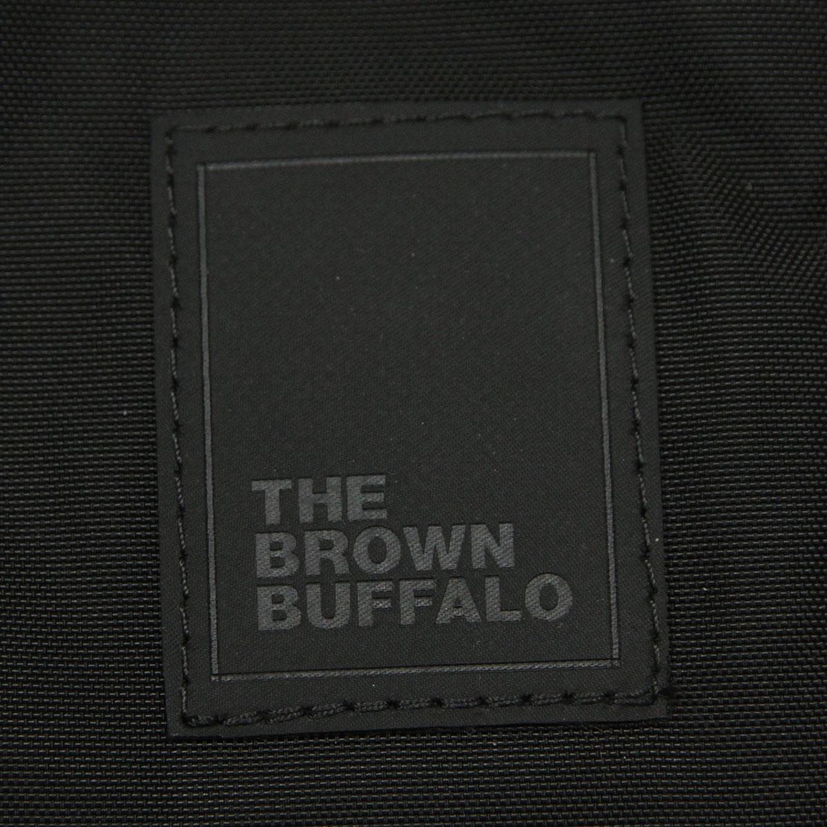 ザ ブラウン バッファロー バッグ メンズ レディース 正規販売店 THE BROWN BUFFALO ショルダーバッグ サコッシュ ミニショルダー PACKERSLING BLACK F18PS420DBLK1 AA7B B3C C8D D4E E13F