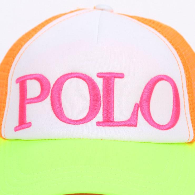 ポロ ラルフローレン キッズ POLO RALPH LAUREN CHILDREN 正規品 子供服 ガールズ 帽子 キャップ EMBROIDERED TRUCKER CAP 81757956 A63B B6C C3D D4E E08F