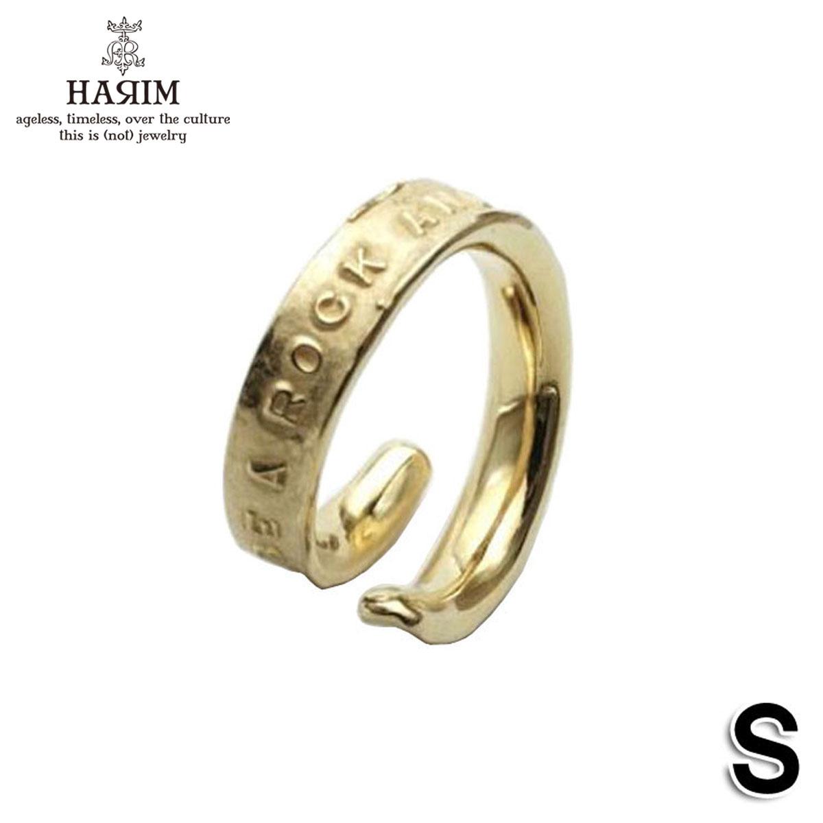 ハリム HARIM 正規販売店 指輪 リング STAIRWAY TO HEAVEN FREE RING S HRR039GP S SILVER 925 K18YG GOLD PLATING A82B B3C C3D D8E E33F