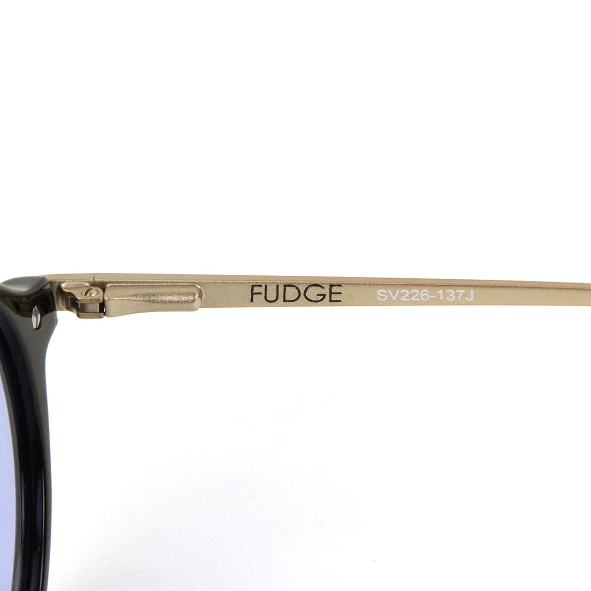 セイバー SABRE 正規販売店 サングラス めがね THE FUDGE BLACK-MATTE GOLD METAL FRAME LIGHT BLUE LENS SUNGLASS SV226-137J A55B B3C C3D D1E E13F