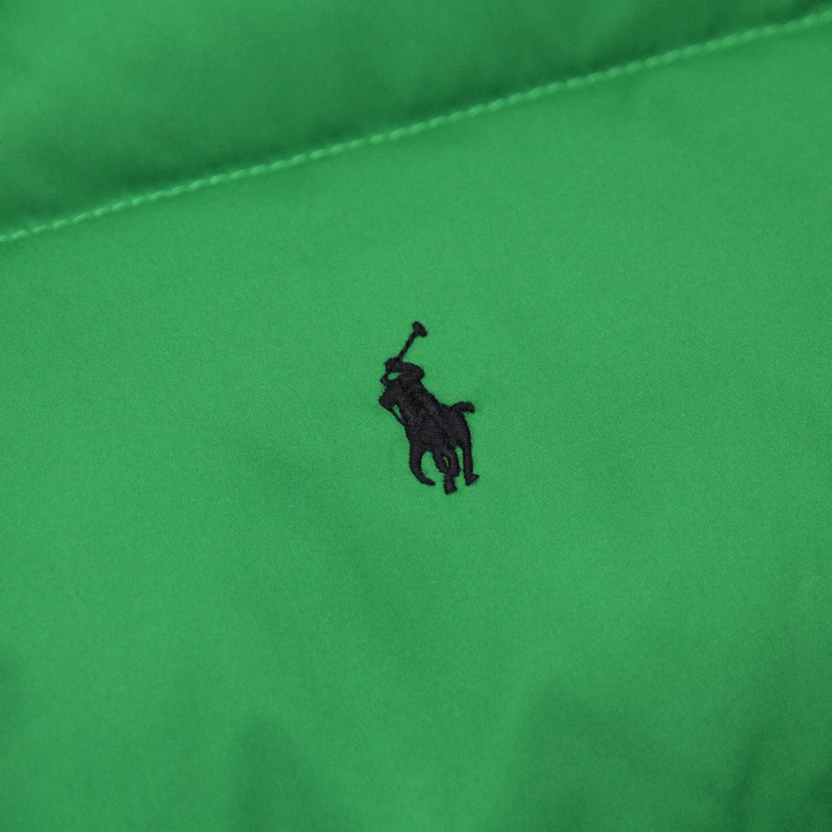 ポロ ラルフローレン キッズ POLO RALPH LAUREN CHILDREN 正規品 子供服 ボーイズ リバーシブルダウンベスト Varsity Reversible Down Vest #22358316 GREEN A63B B5C C1D D4E E08F