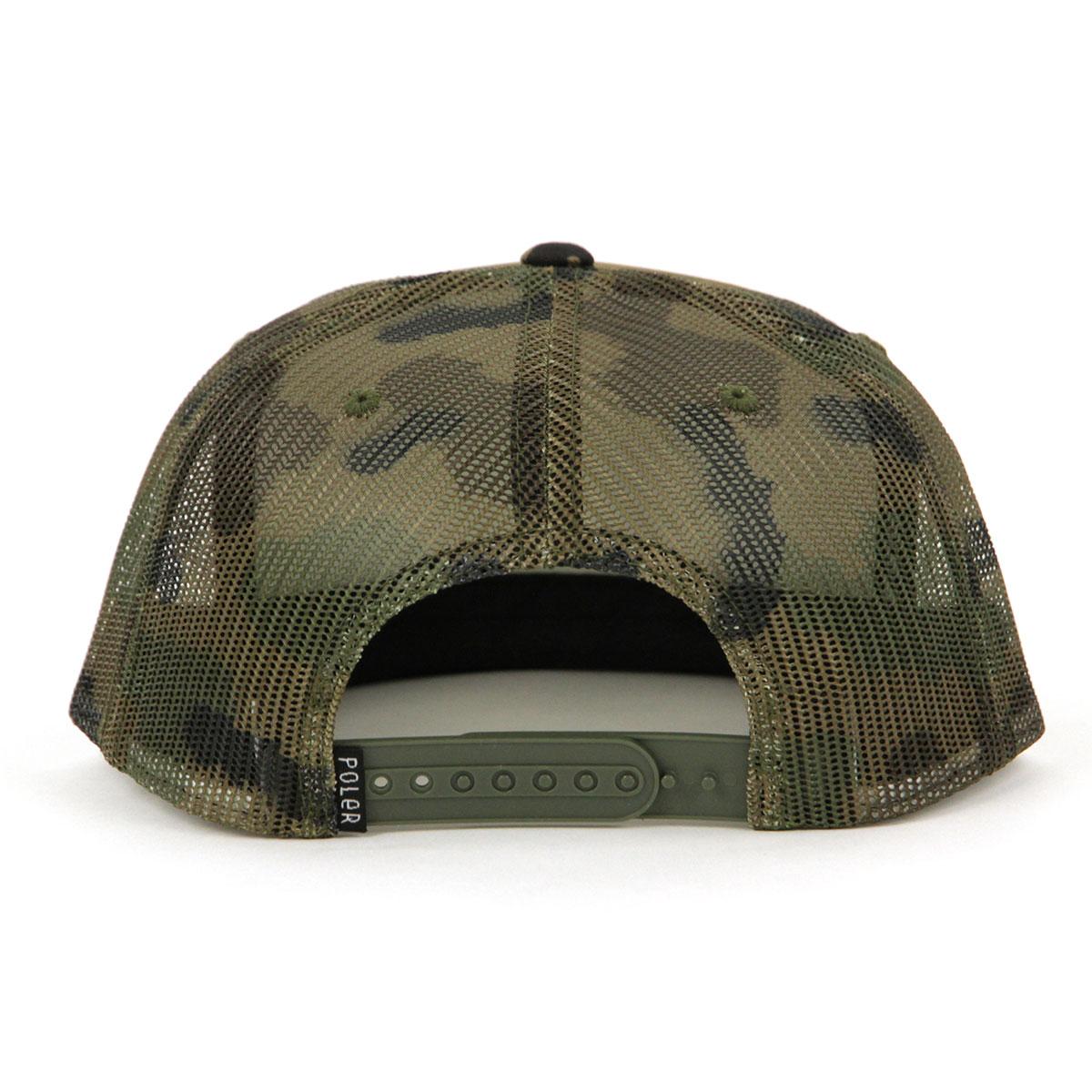 ポーラー POLER 正規販売店 キャップ 帽子 VENN DIAGRAM MESH TRUKER CAP 55300006-CAM CAMO A79B B3C C3D D4E E08F